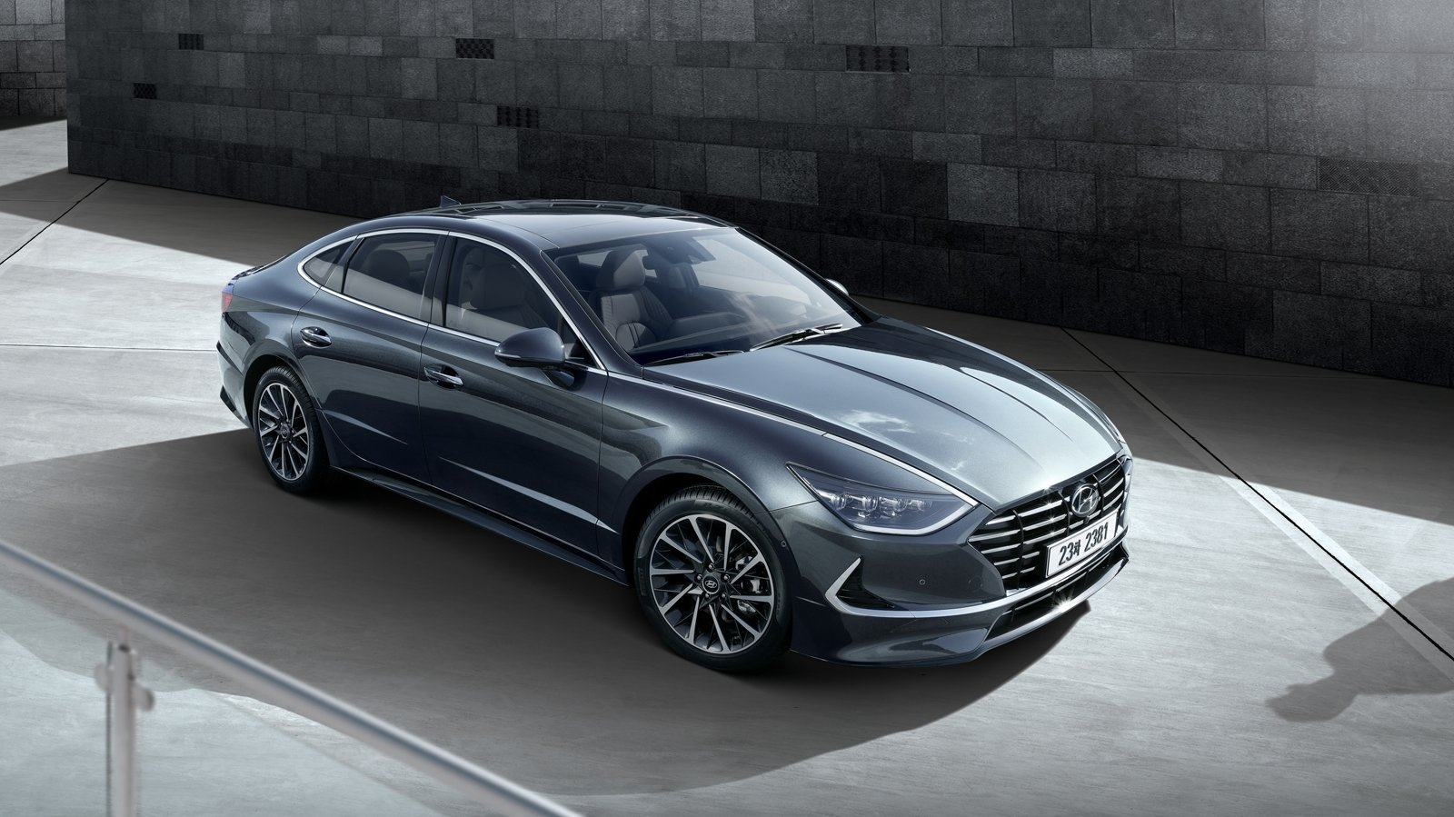 The All New 2020 Hyundai Sonata Has A Striking Face And