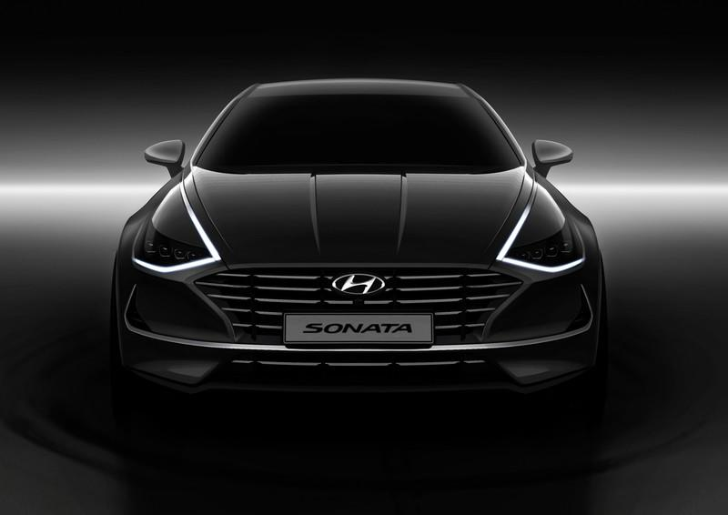 The All-New 2020 Hyundai Sonata Has a Striking Face and Upmarket Interior