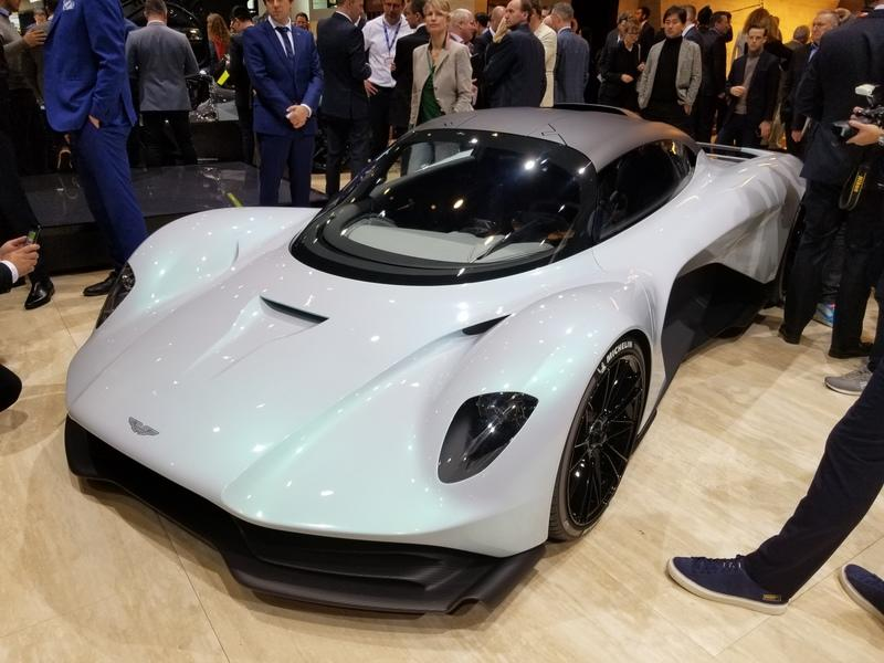 The 2020 Aston Martin AM-RB 003 Is a Valkyrie with a Hybrid V-6 and Luggage Room