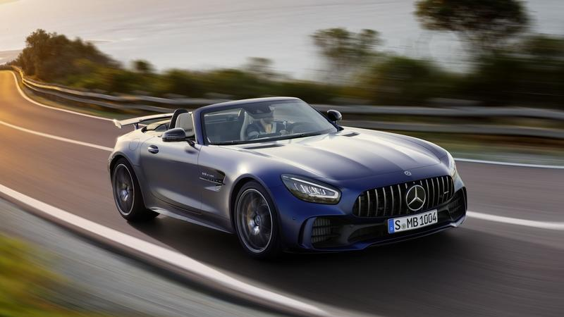 The Mercedes-AMG GT R Roadster is the Ultimate but Limited Open-Air AMG Sports Car