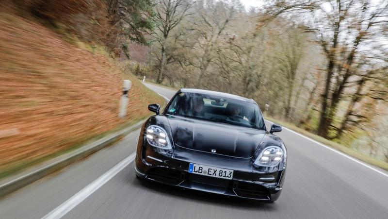 The Porsche Taycan Enters Final Round of Testing as Production Nears