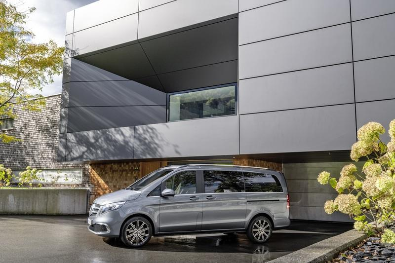 The Revised 2019 Mercedes-Benz V-Class is the Rolls-Royce of Passenger Vans