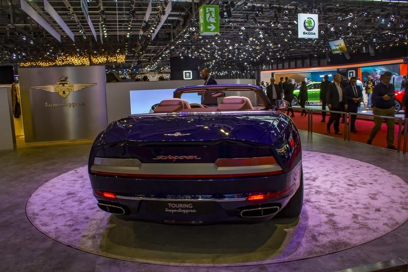 The 2020 Touring Superleggera Sciadipersia Cabriolet Just Might Be The Secret Star of the Geneva Motor Show - image 828648