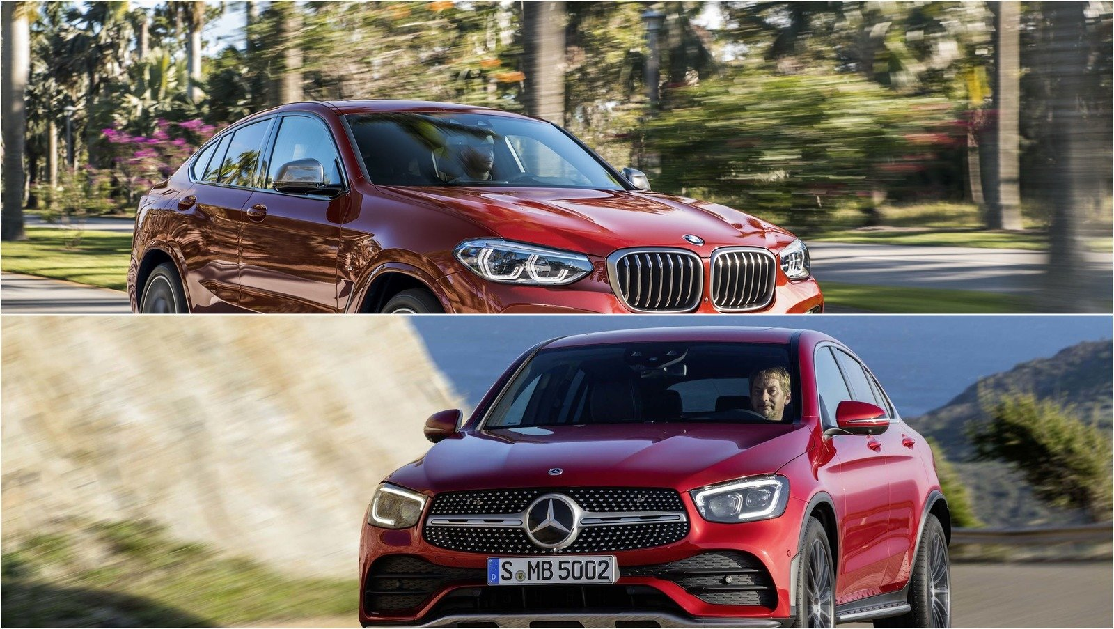Video 2020 Mercedes Benz Glc Coupe Vs 2019 Bmw X4