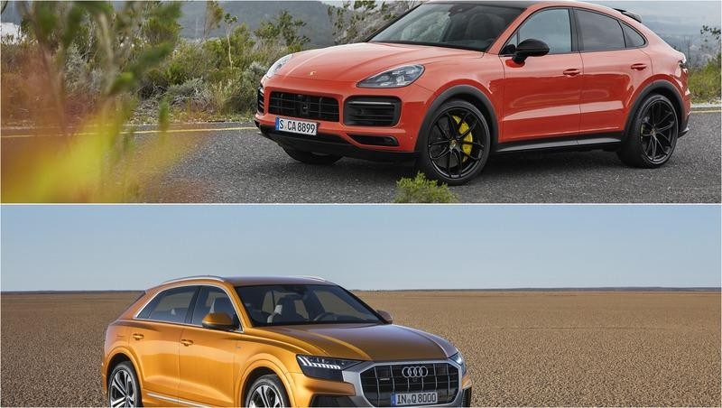 Video: 2020 Porsche Cayenne Coupe Vs. 2019 Audi Q8 - Luxury Coupe SUV Showdown