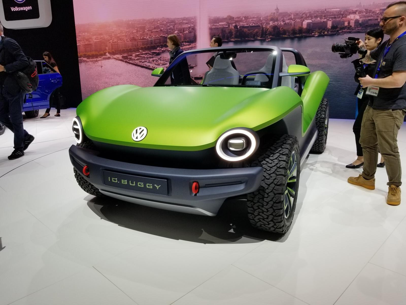 2019 VW ID Buggy Concept Wants To Take Electric Cars To
