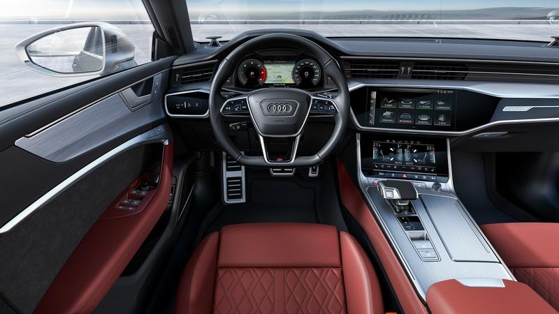 The 2020 Audi S6 and S7 Have Been Revealed, and There's No V-8 in Sight Interior - image 834689