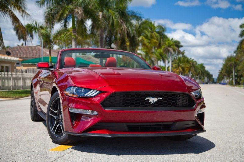 Build A Lexus >> 2019 Ford Mustang 4-cylinder Convertible | Top Speed