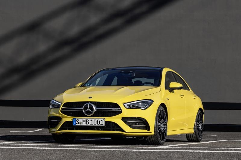 2020 Mercedes-AMG CLA 35 Unveiled with 300 HP and Four-Door Coupe Luxury
