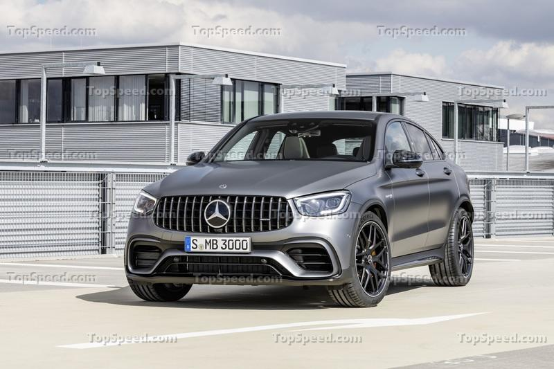 2020 Mercedes-AMG GLC 63 Revealed with Tons of Go-Faster Tech