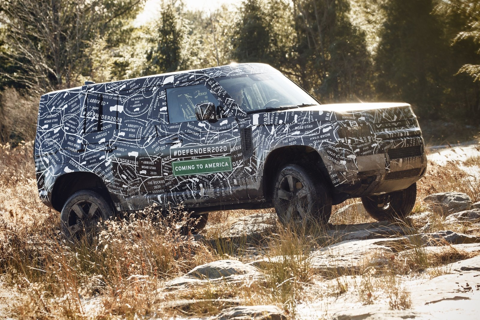 All New Land Rover Defender Debuts This September Goes On