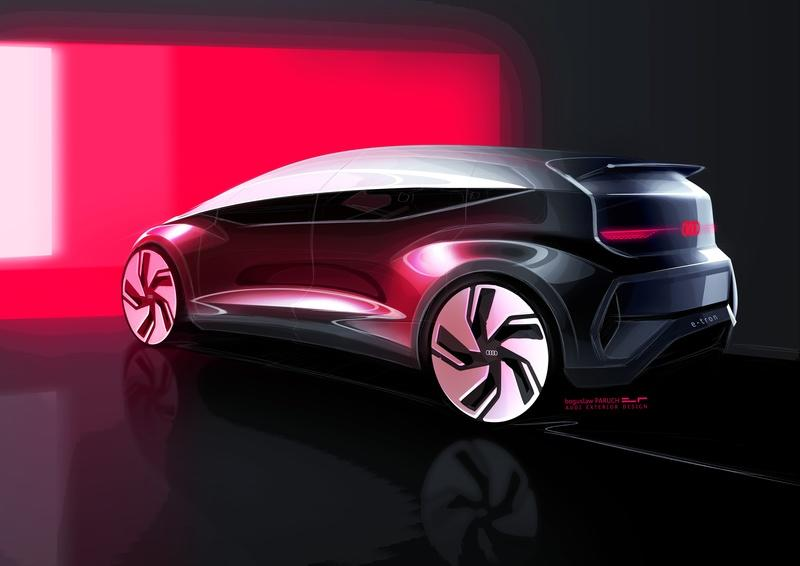 Audi Bills the 2019 AI:ME Concept as Your Next Megacity Car