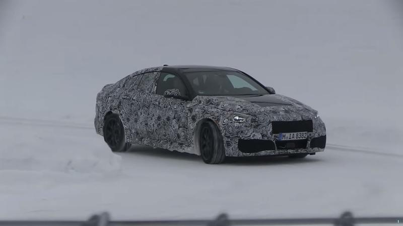 Check Out the 2020 BMW 2 Series Gran Coupe on Video During Cold-Weather Testing