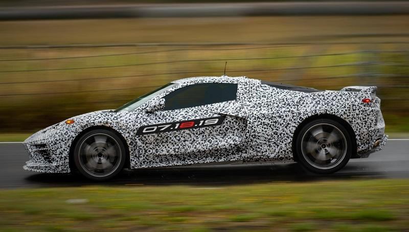 GM Just Announced The Launch Date of the Mid-Engined 2020 Chevy C8 Corvette