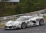 Do These Spy Shots Prove That There's a Special Edition of the Ferrari FXX K Evo On the Way? - image 834382