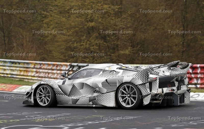 Do These Spy Shots Prove That There's a Special Edition of the Ferrari FXX K Evo On the Way?