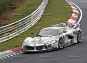 Do These Spy Shots Prove That There's a Special Edition of the Ferrari FXX K Evo On the Way? - image 834381