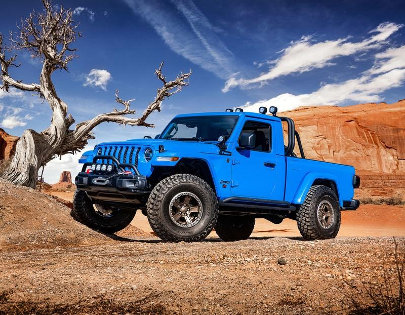 2019 Jeep Gladiator Gravity Concept | Top Speed