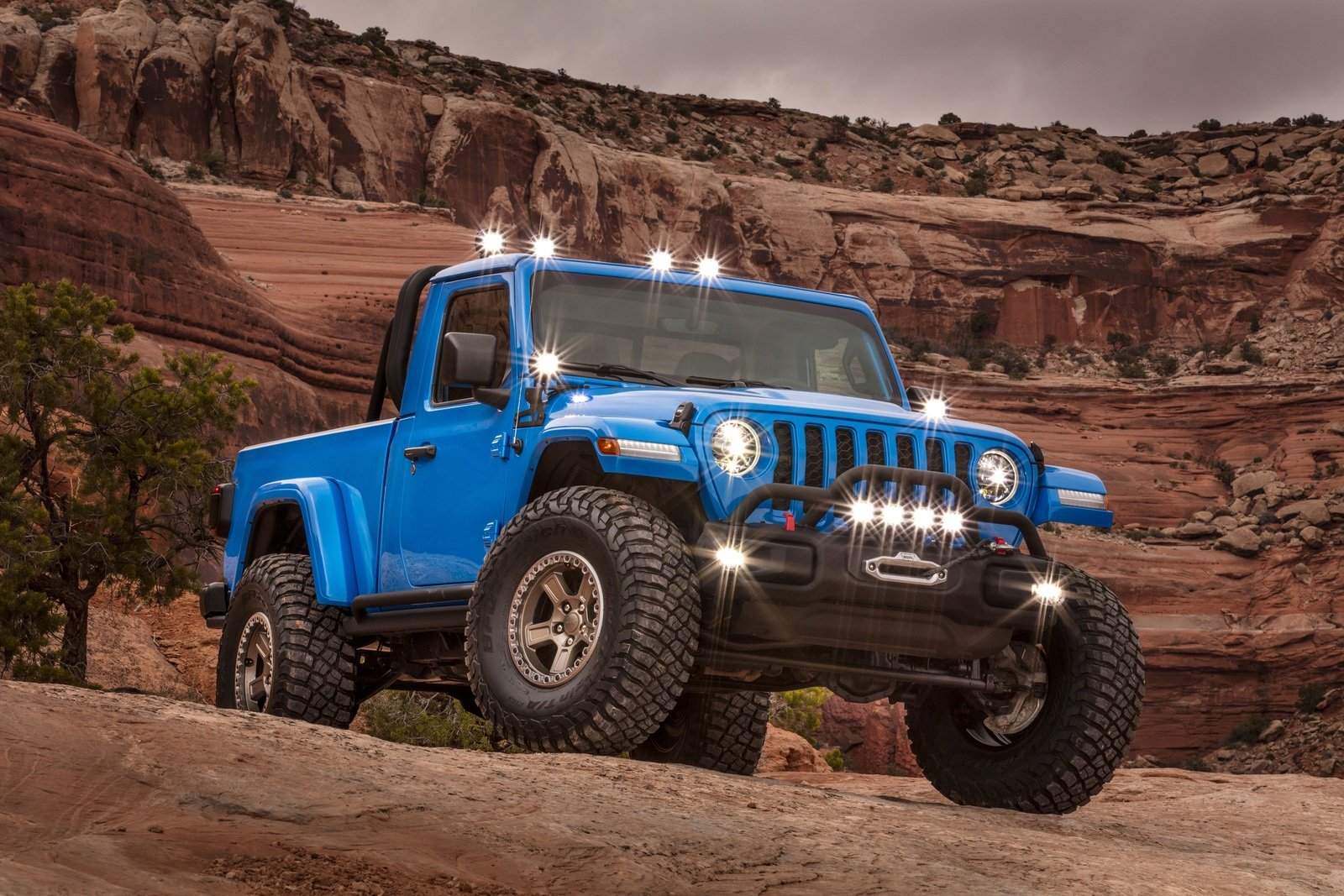 2019 Jeep Gladiator J6 Concept Top Speed
