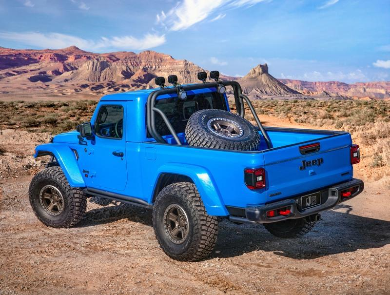 The Hellcat Engine Will Fit In The 2020 Jeep Gladiator And