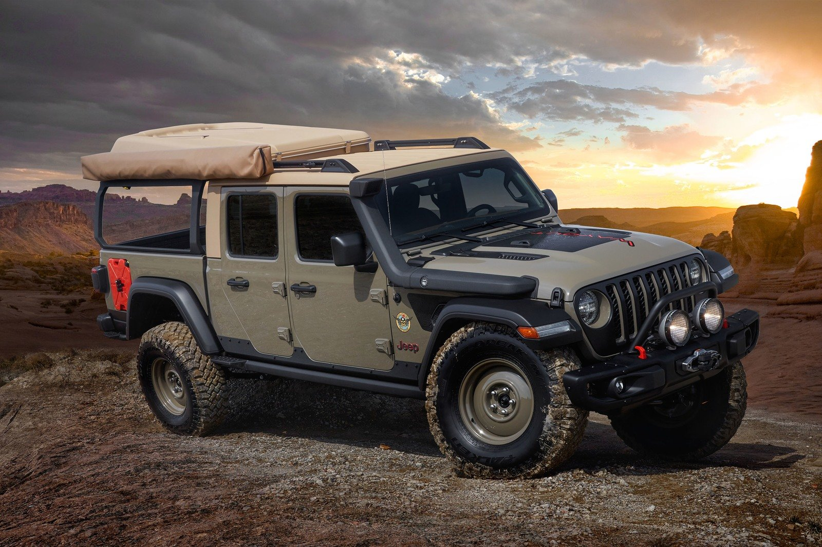2019 Jeep Gladiator Wayout Concept Pictures, Photos ...