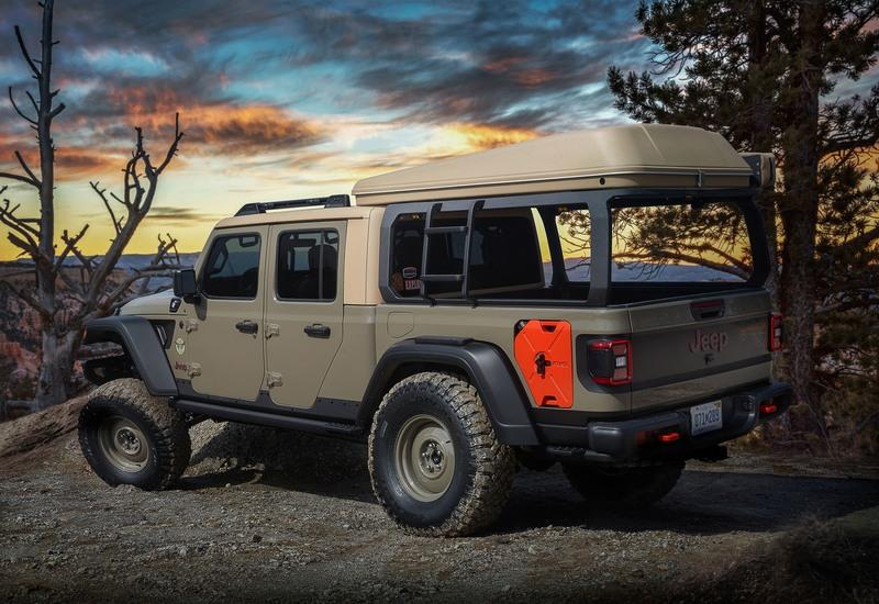 2019 Jeep Gladiator Wayout Concept Top Speed