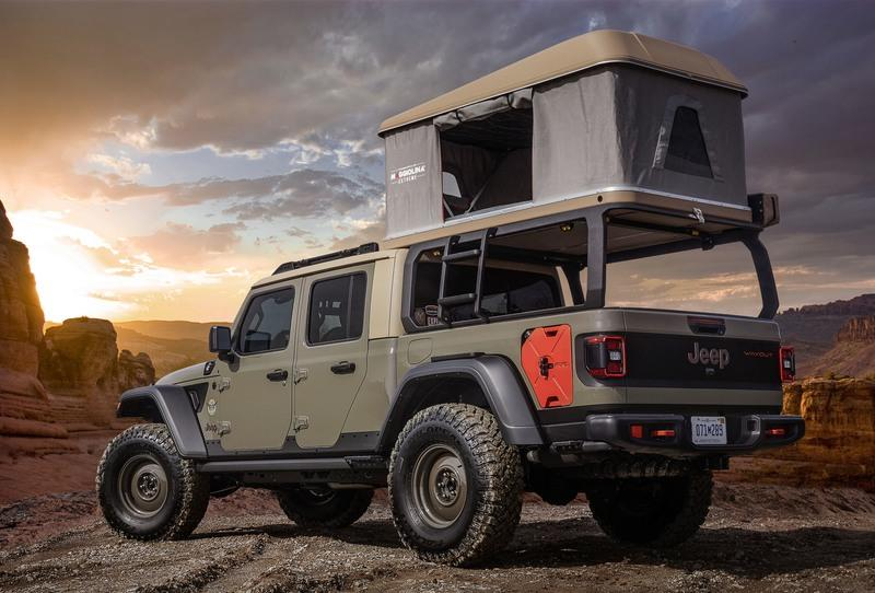 2019 Jeep Gladiator Wayout Concept