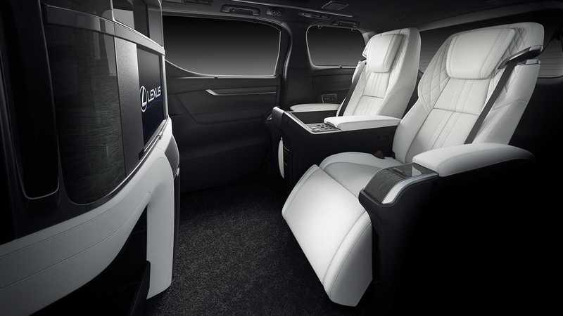 Meet the Lexus LM - A Luxurious Version of the Toyota Alphard You Didn't Know You Wanted