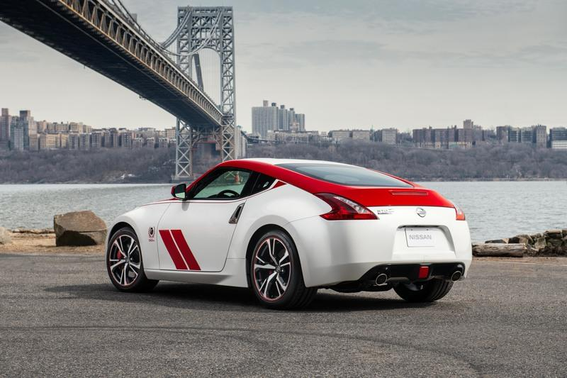 The 2020 Nissan 370Z Looks Stunning in Red and White at the New York Auto Show