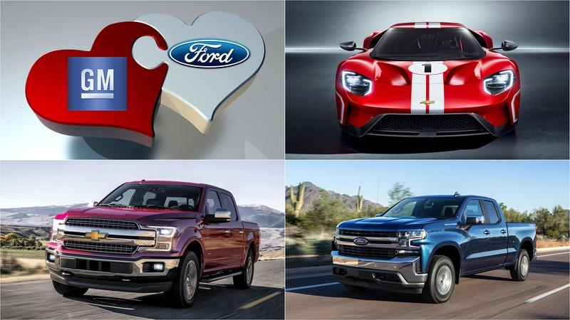Not Sure How to Proceed in Today's Market, GM Announces Merger With Ford
