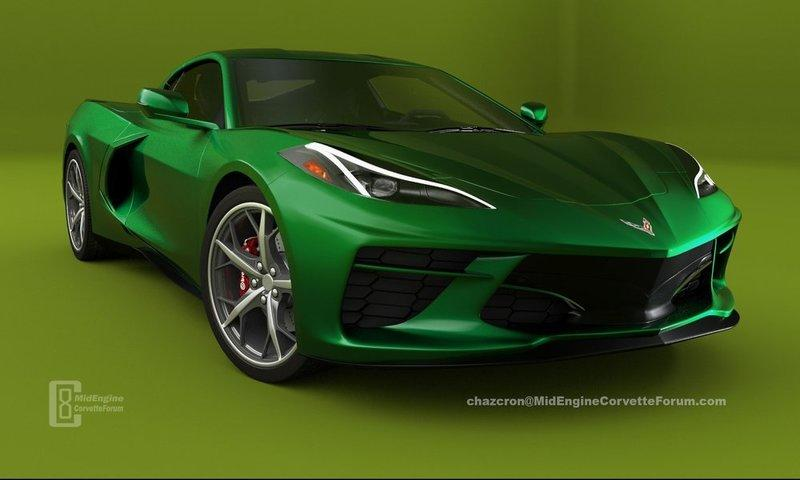 People Can't Quit Rendering the 2020 Chevy C8 Corvette and We Love It - image 836853
