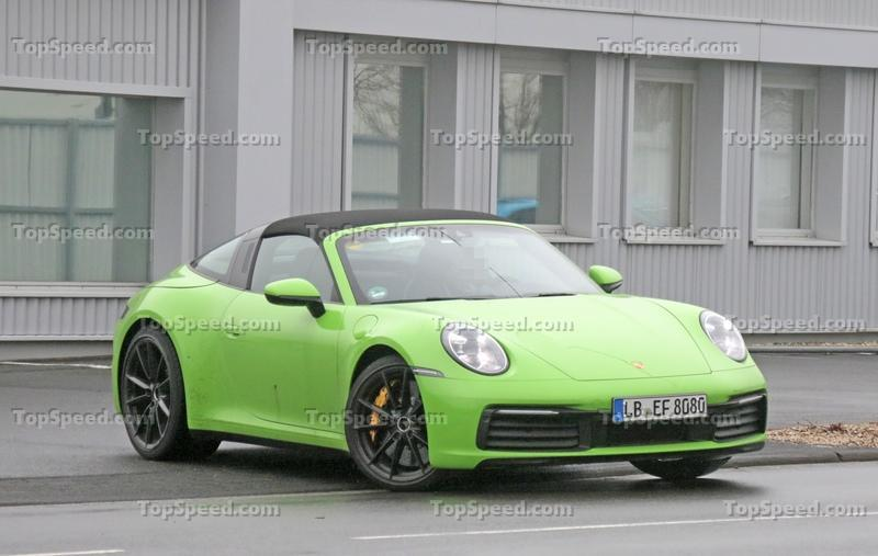 2021 Porsche 911 Targa (Updated)