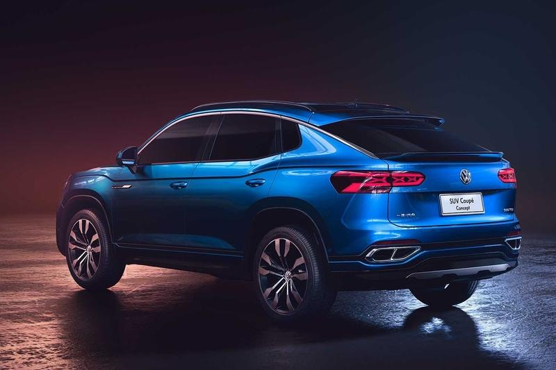 Should Volkswagen Fight BMW with a Production Version of the 2019 SUV Coupe Concept?