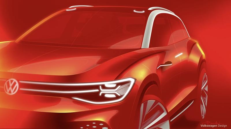 Teaser: Volkswagen Will Showcase the ID Roomzz Full-Size Electric SUV at the 2019 Shanghai Auto Show