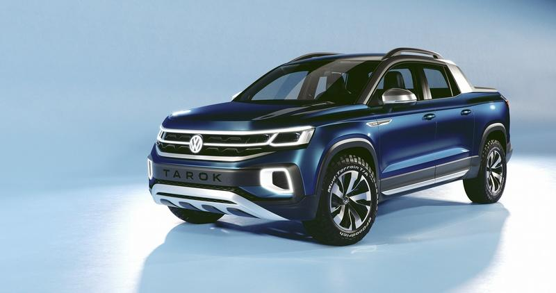 The 2019 Volkswagen Tarok Pickup Concept is Yet Another Teaser of Something We Can't Have