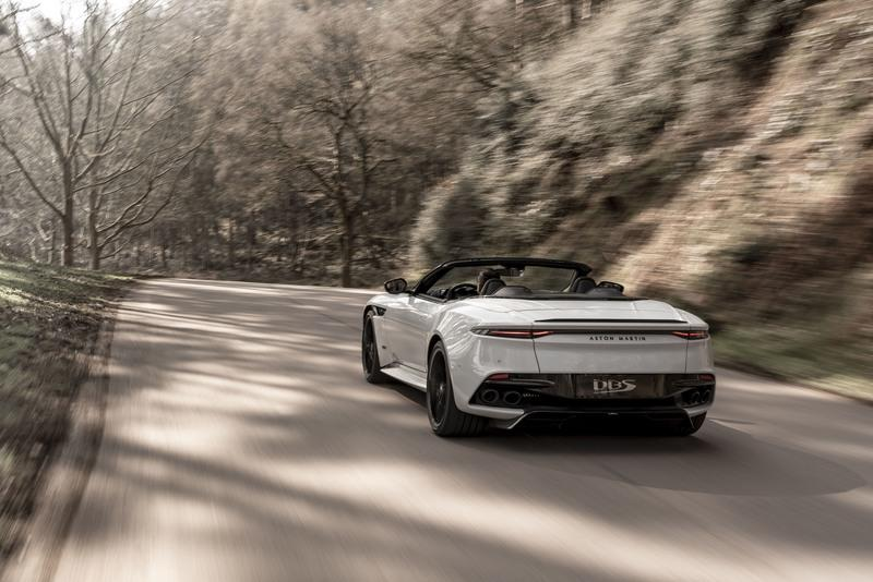 The 2020 Aston Martin DBS Superleggera Volante Is Your New 211-MPH Open-Top Cruise Missile