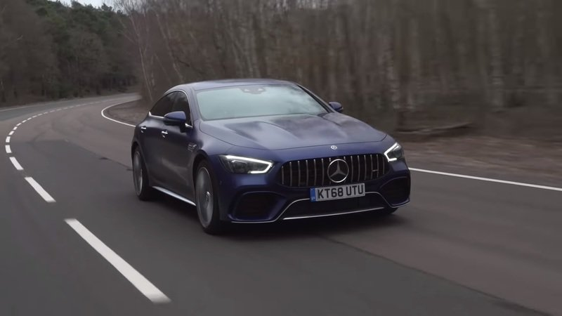 The 2020 Mercedes-AMG GT63 S Goes Head-to-Head With The Electrified 2019 Porsche Panamera Turbo S - image 833451
