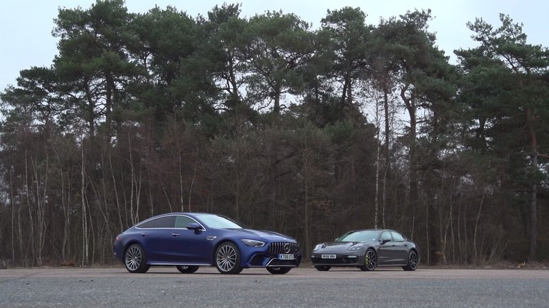 The 2020 Mercedes-AMG GT63 S Goes Head-to-Head With The Electrified 2019 Porsche Panamera Turbo S