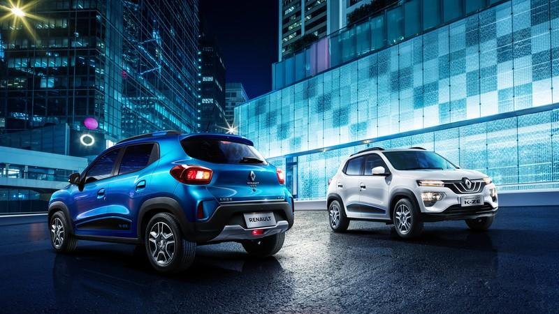 The 2020 Renault K-ZE EV Showed up in Shanghai Ready for Production