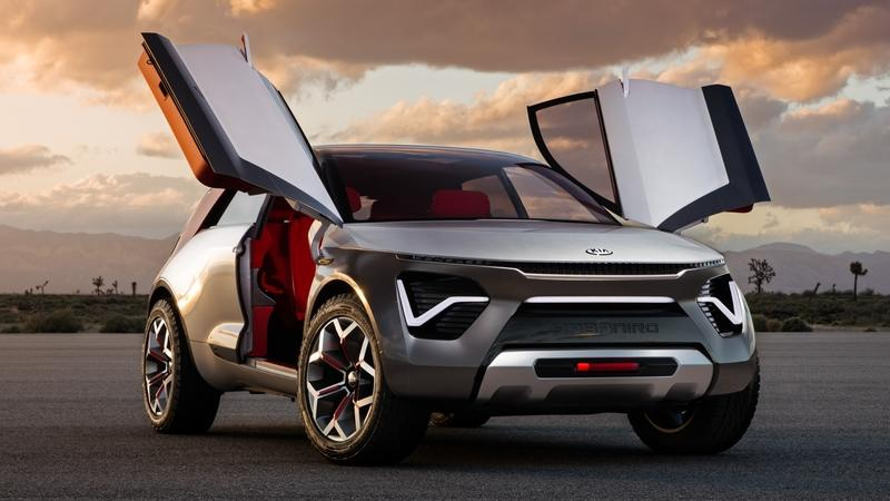 The Habaniro is Kia's Spicy New Crossover Concept