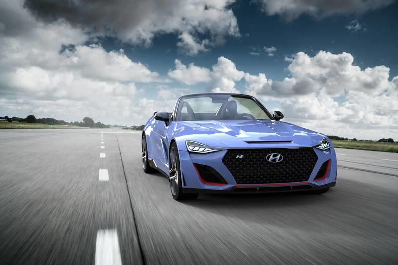The Hyundai N Roadster Wouldn't be a Joke If It Was Built to Fight the Mazda MX-5 Miata