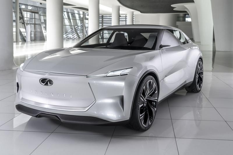 The Infiniti Qs Inspiration Previews an All-Electric Sports Sedan