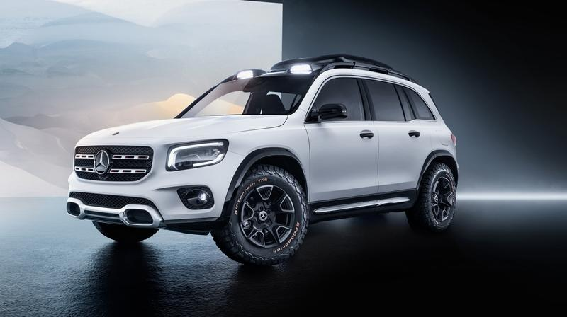 The Mercedes GLB Is Confirmed for Launch In 2019, Mercedes EQB to Follow in 2021