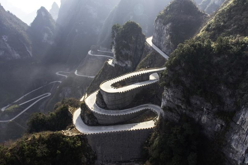 Volkswagen To Tackle Tianmen Shan Big Gate Road with I.D. R