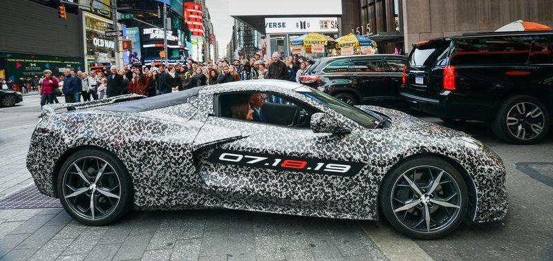 Few People Will Be Lucky Enough To Witness The 2020 Chevy C8 Corvette Debut in Person, But You Can Catch it in the Metal a Week After