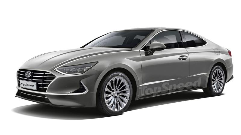 Would the Striking New 2020 Hyundai Sonata Look Better as a Two-Door Coupe?