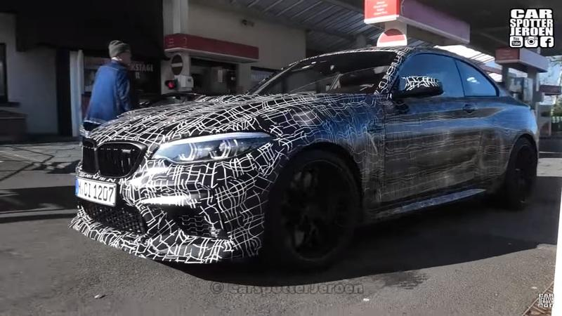 2020 BMW M2 CS Spotted Up Close and Personal at the 'Ring - image 837978