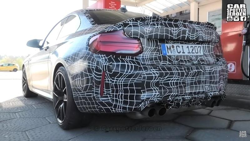 2020 BMW M2 CS Spotted Up Close and Personal at the 'Ring - image 837982
