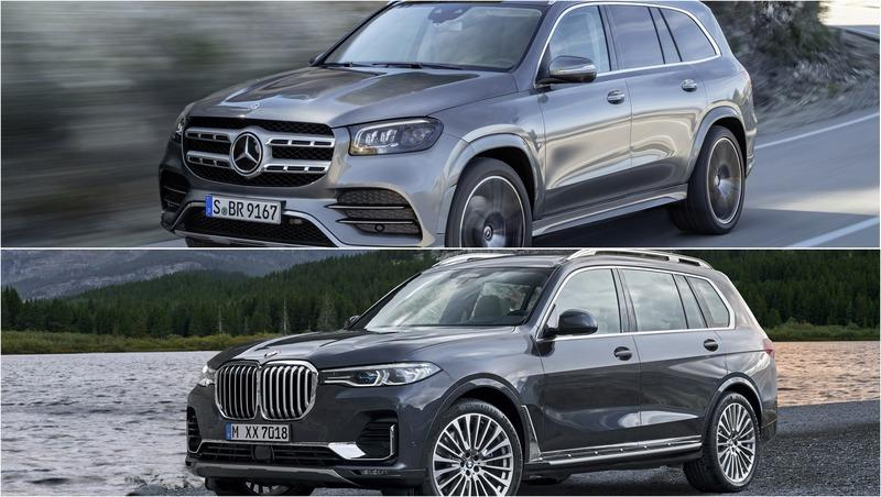 2020 Mercedes GLS vs 2020 BMW X7
