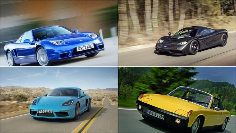 7 Practical Mid-Engined Grand Tourers that Came Before the McLaren GT